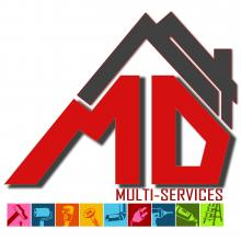 Logo de MD Multiservices, société de travaux en Installation électrique : rénovation complète ou partielle