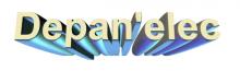 Logo de depan'elec, société de travaux en Installation électrique : rénovation complète ou partielle