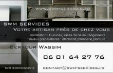 Logo de Swm-services, société de travaux en Fourniture et installation de cuisine complète