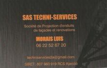Logo de SAS TECHNI-SERVICES, société de travaux en Ravalement de façades