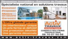 Logo de CONSEILS SOLUTIONS TRAVAUX, société de travaux en Rénovation complète d'appartements, pavillons, bureaux