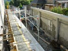 Logo de EURL TTM MAçONNERIE, société de travaux en Maçonnerie : construction de murs, cloisons, murage de porte