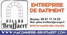 Logo de GILLES BRUFFAERT, société de travaux en Construction de maison