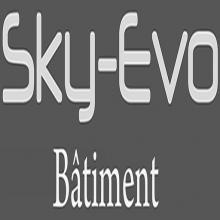 Logo de SKY-EVO, société de travaux en Construction, murs, cloisons, plafonds en plaques de plâtre