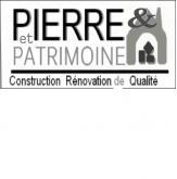 Logo de PIERRE ET PATRIMOINE, société de travaux en Maçonnerie : construction de murs, cloisons, murage de porte
