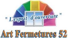 Logo de ART FERMETURES 52, société de travaux en Fourniture et installation d'un bloc porte