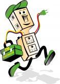 Logo de JM ELECTRICITE, société de travaux en Installation électrique : rénovation complète ou partielle