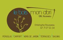 Logo de LE BOIS MON ABRI, société de travaux en Garages / Abris de jardin