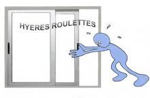 Logo de HYèRES ROULETTES BAIES VITRéES, société de travaux en Rénovation d'une fenêtre / porte extérieure