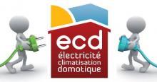 Logo de ECD, société de travaux en Fourniture et pose d'une climatisation réversible / chauffage