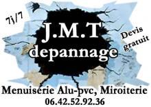 Logo de JMT DéPANNAGE, société de travaux en Fourniture et installation d'un bloc porte