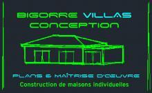 Logo de BIGORRE VILLAS CONCEPTION, société de travaux en Extension de maison