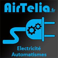 Logo de AIRTELIA ELECTRICITé, société de travaux en Installation électrique : rénovation complète ou partielle