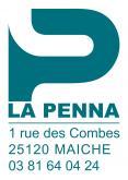 Logo de LA PENNA, société de travaux en