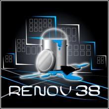 Logo de RENOV38, société de travaux en Aménagement de combles