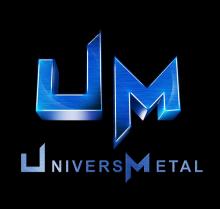 Logo de UNIVERSMETAL, société de travaux en Fourniture et pose d'un escalier métallique