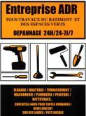 Logo de ENTREPRISE ADR, société de travaux en Changements de vitres cassées