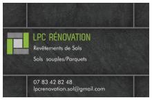 Logo de LPC RÉNOVATION, société de travaux en Rénovation complète d'appartements, pavillons, bureaux