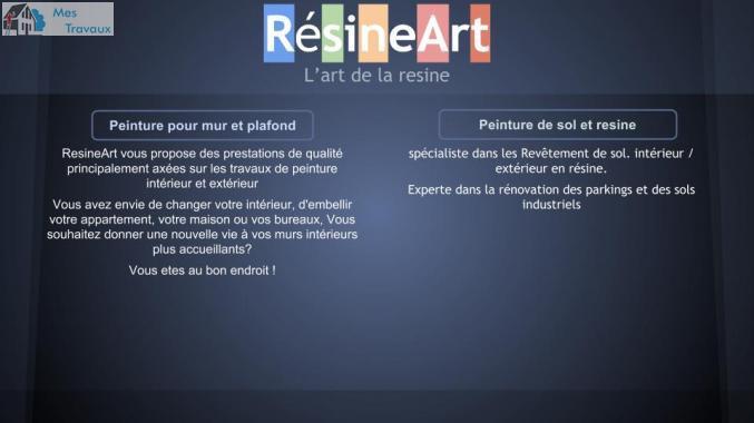 Société resine art