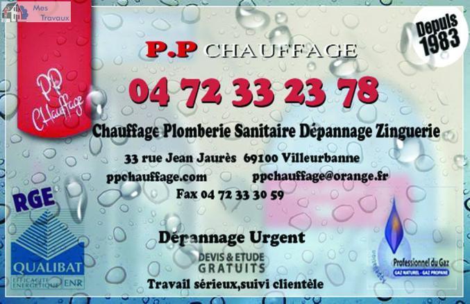 Société SAS PP CHAUFFAGE