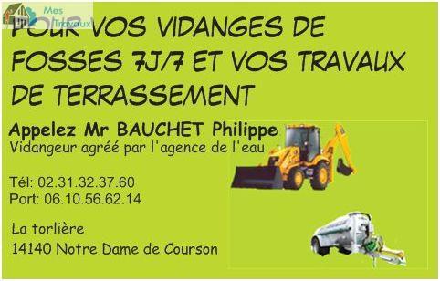 Logo de philippebauchet, société de travaux en Assainissement - Fosses septiques - forage