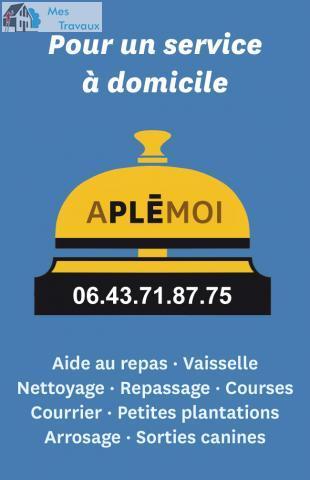 Logo de APLEMOI, société de travaux en Service à la personne