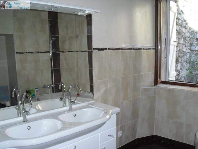 Logo de SARL VRP, société de travaux en Fourniture et pose de lavabos, baignoires, douches, WC...