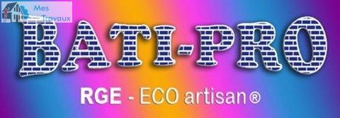 Logo de BATIPRO, société de travaux en Maçonnerie : construction de murs, cloisons, murage de porte