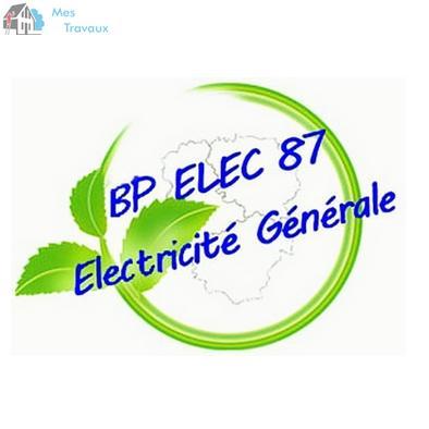 Logo de EURL BP ELEC 87, société de travaux en Installation électrique : rénovation complète ou partielle
