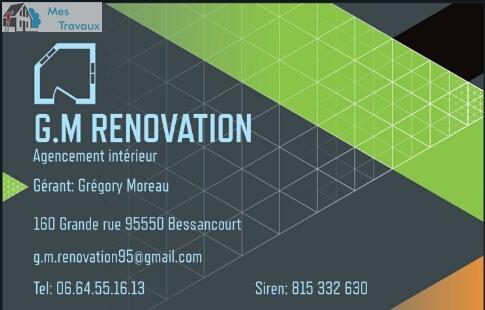 Logo de GM rénovation, société de travaux en Autre travaux Alarme