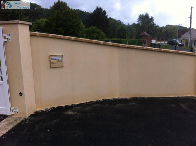 Logo de oml bati-renov, société de travaux en Construction, murs, cloisons, plafonds en plaques de plâtre