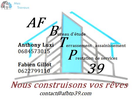 Logo de AF BTP 39, société de travaux en Terrassement