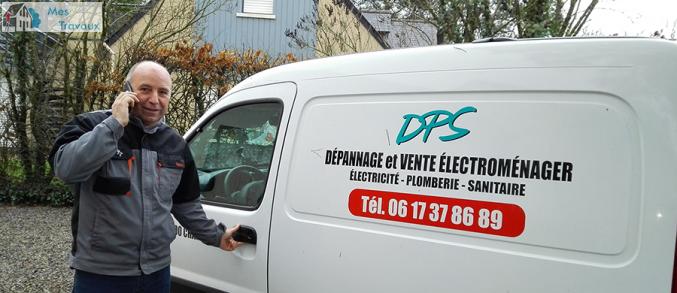 Logo de DPS, société de travaux en Dépannage en plomberie : fuite, joints, petits travaux