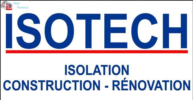 Logo de ISOTECH, société de travaux en Fourniture et installation de cuisine complète