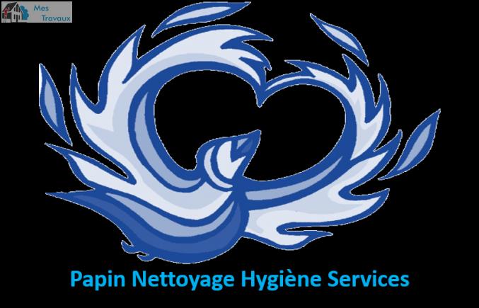 Logo de Papin Nettoyage Hygiène Services, société de travaux en Nettoyage de vitre
