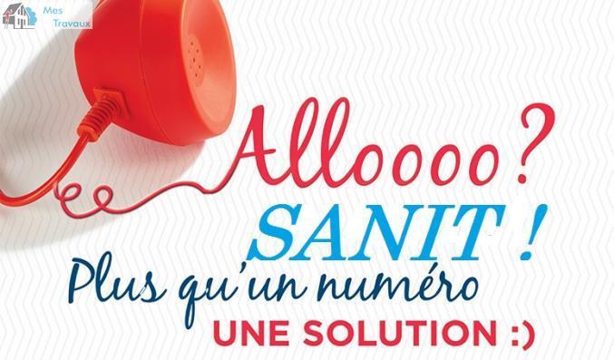 Logo de Allo Sanit, société de travaux en Plomberie : installation ou rénovation complète