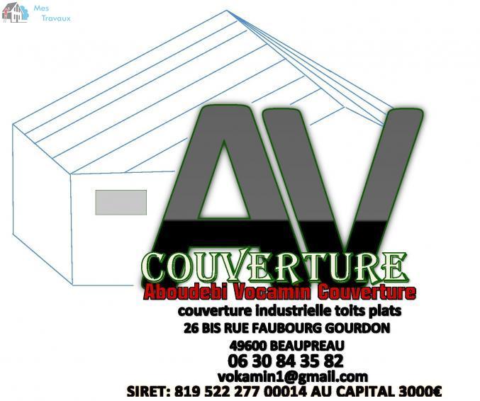 Logo de ABOUDEBI VOCAMIN, société de travaux en Etanchéité - Isolation des terrasses