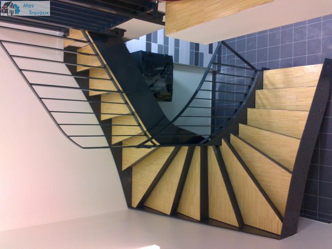 Logo de METAL PRO POSE, société de travaux en Fourniture et pose d'un escalier métallique