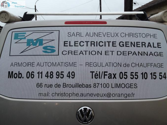 Logo de SARL AUNEVEUX CHRISTOPHE, société de travaux en Domotique