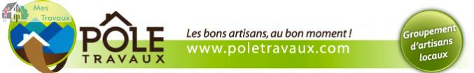 Logo de POLE TRAVAUX, société de travaux en Construction de maison
