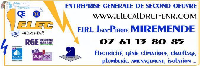 Logo de MIREMENDE JP, société de travaux en Remplacement / dépannage de climatisation