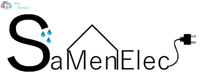 Logo de SAMENELEC, société de travaux en Dépannage électrique