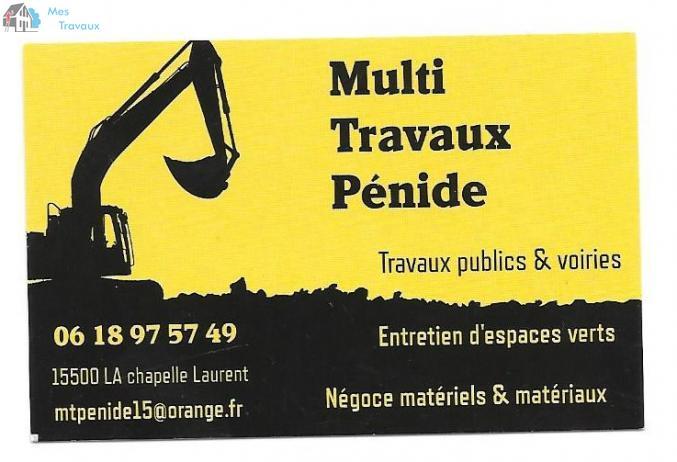Logo de MULTI TRAVUX PéNIDE, société de travaux en Terrassement