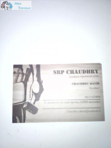 Logo de SRP CHAUDHRY, société de travaux en Fourniture et pose d'un escalier intérieur