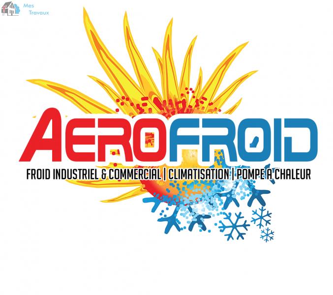 Logo de AéROFROID, société de travaux en Remplacement / dépannage de climatisation
