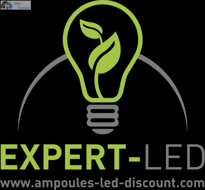 Logo de EXPERT-LED, société de travaux en Installation électrique : rénovation complète ou partielle