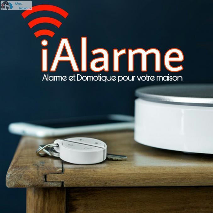 Logo de IALARME, société de travaux en Alarme domicile