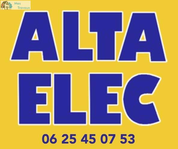 Logo de SARL ALTA ELEC, société de travaux en Dépannage électrique