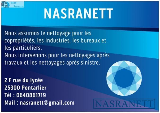 Logo de NASRANETT, société de travaux en Locaux Professionnels