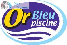 Logo de OR BLEU PISCINE, société de travaux en Abri pour piscine